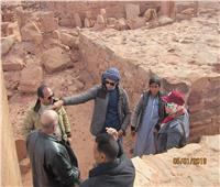 الآثار: بدء المرحلة الثانية لتوثيق «النقوش الصخرية» بجنوب سيناء