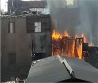 السيطرة على حريق شب بأحد المنازل بالقناطر الخيرية