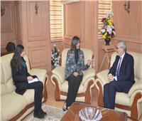 وزيرة الهجرة تستقبل سفير ألبانيا بالقاهرة لتعزيز سبل التعاون