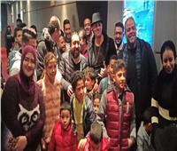 صور| نجوم «عمر خريستو» مع الجمهور في مول العرب