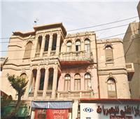 صور| كارثة في مصر الجديدة.. منزل «العقاد» يتعرض للتدمير