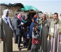صور| أهالي «أفقر قريتين» في البحيرة عن «حياة كريمة»: الرئيس أعاد لنا كرامتنا