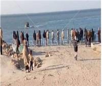 استمرار جهود البحث عن الصيادين المفقودين ببحيرة البردويل