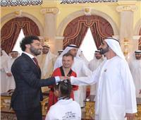 فيديو| محمد صلاح يحصد جائزة بن راشد للإبداع الرياضي