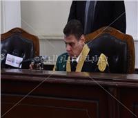 صور جديدة للحظة النطق بالحكم على «دومة» في أحداث مجلس الوزراء