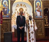 السفاره المصرية في إسبانيا تشارك الأقباط فرحةأعياد الميلاد