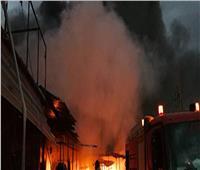 الدفع بـ3 سيارات إطفاء للسيطرة على حريق أسفل كوبري المريوطية بالهرم