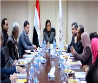 وزيرة الاستثمار تعقد اجتماعا مع مجلس إدارة المنطقة الإعلامية الحرة