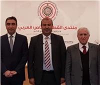 خالد حنفي يبحث مع وفد لبناني التحضيرات لمنتدى القطاع الخاص العربي