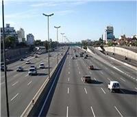 فيديو  هدوء وسيولة مرورية على الطرق والمحاور الرئيسية بالقاهرة والجيزة
