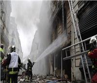 فيديو  إصابة العشرات في انفجار هائل بالعاصمة الفرنسية