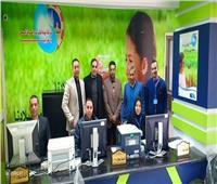 افتتاح مركز خدمة عملاء مياه الشرب في كفرالزيات