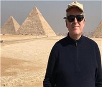 محمد عبد الحكم: زيارة سفير الدنمارك للأهرامات خير دعاية للسياحة