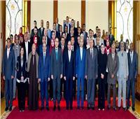 فيديو| تعرف على كواليس لقاء الرئيس السيسي بممثلي محافظة الوادي الجديد