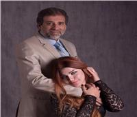 ياسمين الخطيب عن صورتها مع خالد يوسف: «ضجة مفتعلة»