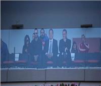 السفير المصري في المغرب يحضر مباراة الزمالك وطنجة
