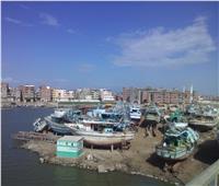 إغلاق ميناء الصيد ببرج البرلس لليوم الثاني بسبب الطقس