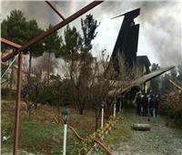 إيران: طائرة الشحن المنكوبة تابعة للجيش ومقتل 15 شخصًا