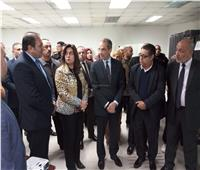 وزير الاتصالات يفتتح مركز خدمة عملاء سنترال دمياط ٢