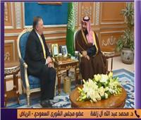 فيديو| مسئول سعودي: «بومبيو» اتفق مع خادم الحرمين على خفض التصعيد في اليمن