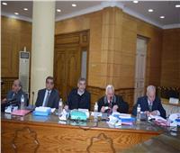 لجنة اختيار عميد حقوق بنها تلتقي بالمرشحين الثلاثة