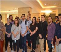 وفد شبابي من المصريين المقيمين بأستراليا يصل مصر