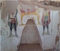 صور| الكشف عن مقبرتين أثريتين من العصر الروماني بمنطقة «بئر الشغالة»