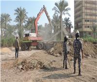 إزالة 466 حالة تعدٍ على أراضي أملاك الدولة بالقليوبية