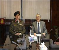 بروتوكول تعاون بين هيئة المواد النووية والشركة المصرية للرمال السوداء