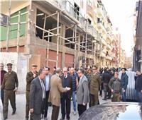 محافظ أسيوط يترأس حملة إزالة مخالفات بناء بحي غرب