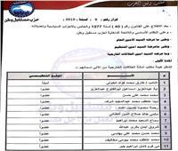 أشرف رشاد يصدر قرارًا بتشكيل أمانة العلاقات الخارجية المركزية لمستقبل وطن