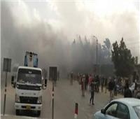 حريق 4 منازل بالإسماعيلية بسبب ماس كهربائي