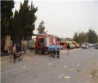 السيطرة على حريق في أبو بلح بالإسماعيلية