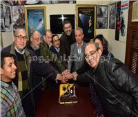 صور| «كتاب ونقاد السينما» تحتفل بعيد ميلاد أحمد وفيق