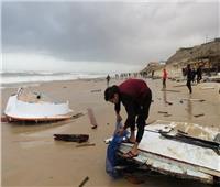 بالصور.. إنقاذ 6 مصريين من الغرق أمام بحر غزة وفقدان سابع