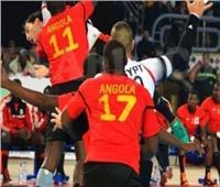 مصر تتقدم 19-12 على أنجولا في الشوط الأول بمونديال اليد