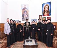 البابا تواضروس يلتقي لجنة احتفال مئوية مدارس الأحد بالإسكندرية