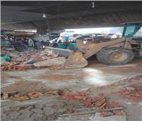 إزالة 4 عقارات مخالفة بحرم المنطقة الأثرية في الجيزة