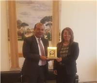 اتحاد الغرف العربية يكرم وزيرة التضامن