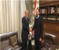 أبو الغيط يؤكد دعمه لجهود الحريري لتشكيل الحكومة في لبنان