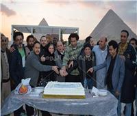 مسلسلات رمضان 2019| علي ربيع يحتفل بتصوير «فكرة بمليون جنيه»