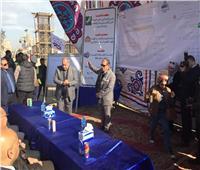 وزير التنمية المحلية يستمع لتفاصيل مشروع إنشاء كوبري شرويدة بالشرقية