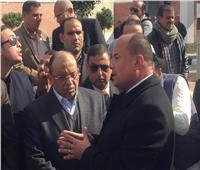 وزير التنمية المحلية يفتتح محطة صرف عرب الفدان بالشرقية