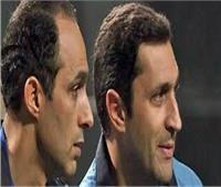 وصول علاء وجمال مبارك لأكاديمية الشرطة لمحاكمتهما فى قضية التلاعب بالبورصة