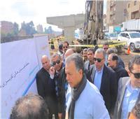 صور| وزير النقل يتابع تنفيذ كوبري قلما على طريق «الإسكندرية الزراعي»