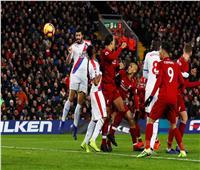 فيديو  كريستال بالاس يسجل هدف التعادل في ليفربول