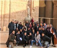 وزارة الهجرة تنظم زيارة لأبناء المصريين بالخارج إلى معبدي إدفو وكوم أمبو