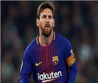 ميسي على مقاعد بدلاء برشلونة أمام ليجانيس