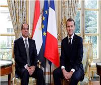 الرئيس السيسي يتلقى اتصالا من نظيره الفرنسي ماكرون