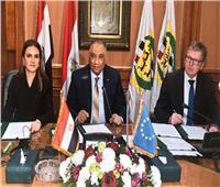 رئيس «الرقابة الإدارية» ووزيرة الاستثمار يوقعان اتفاق منحة أوروبية لمكافحة الفساد